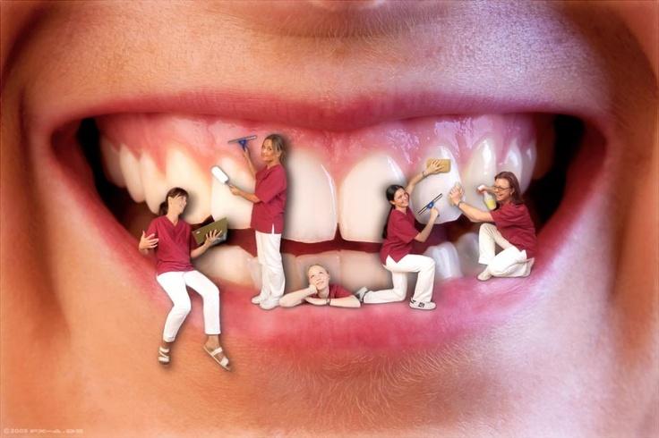 czyszczenie na życzenie ;-)  #Higiena #stomatologia_warszawa #czyszczenie #piaskowanie #skaling #dentysta_warszawa