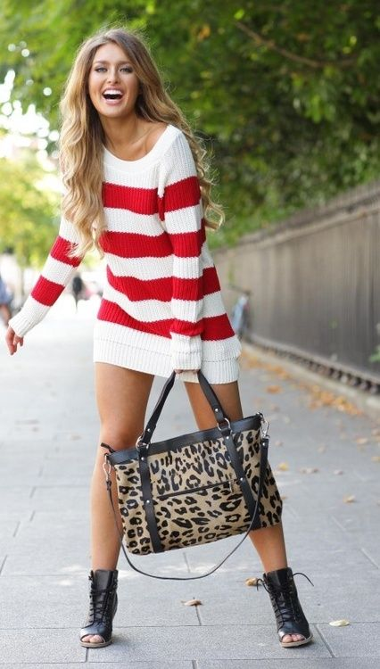 bloggieblogerblog:    I really want this sweater dress!!