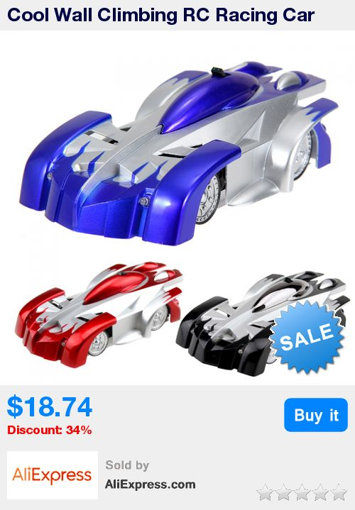 Cool Wall Climbing RC Racing Car High Speed Climber RC Racer Radio Car Toy Remote Control Racing Car Toy for Boys Random Color * Pub Date: 02:23 Jul 5 2017