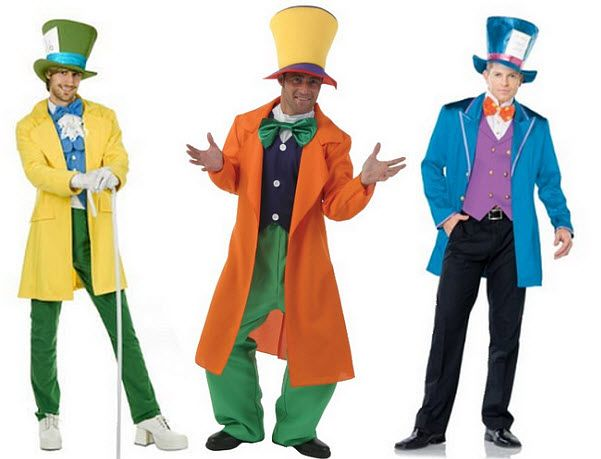 madd hatter costume mens mad hatter costumes pictured left mens deluxe mad hatter