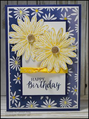 Hi everyone, a little sneak peak at the 'Daisy Delight' stamp set, matching 'Daisy' Punch, and the beautiful 'Delightful Daisy' Designer Se...