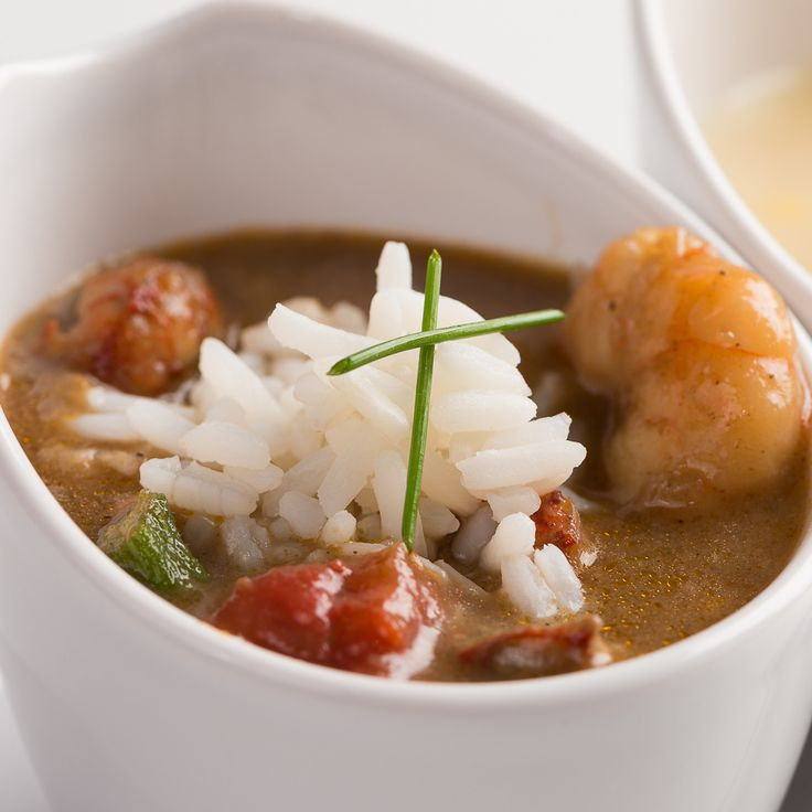 Join us at Criollo Restaurant for the best gumbo in New Orleans.