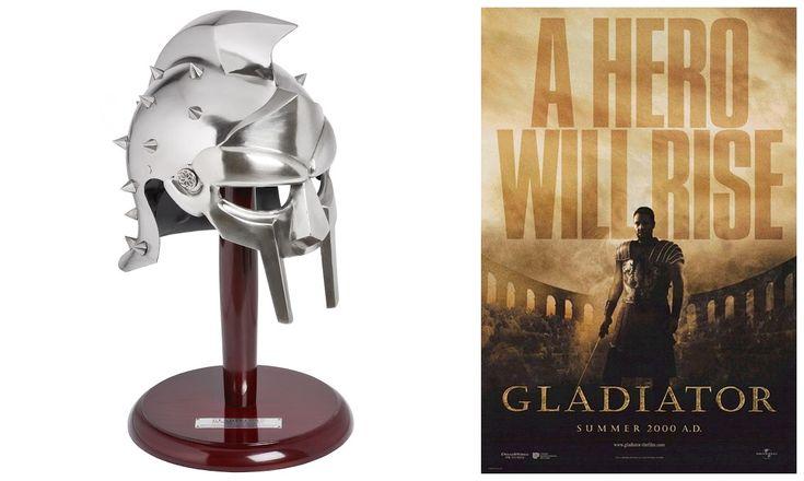 Gladiator Maximus Decimus Meridius (Russell Crowe) Helmet Prop Replica