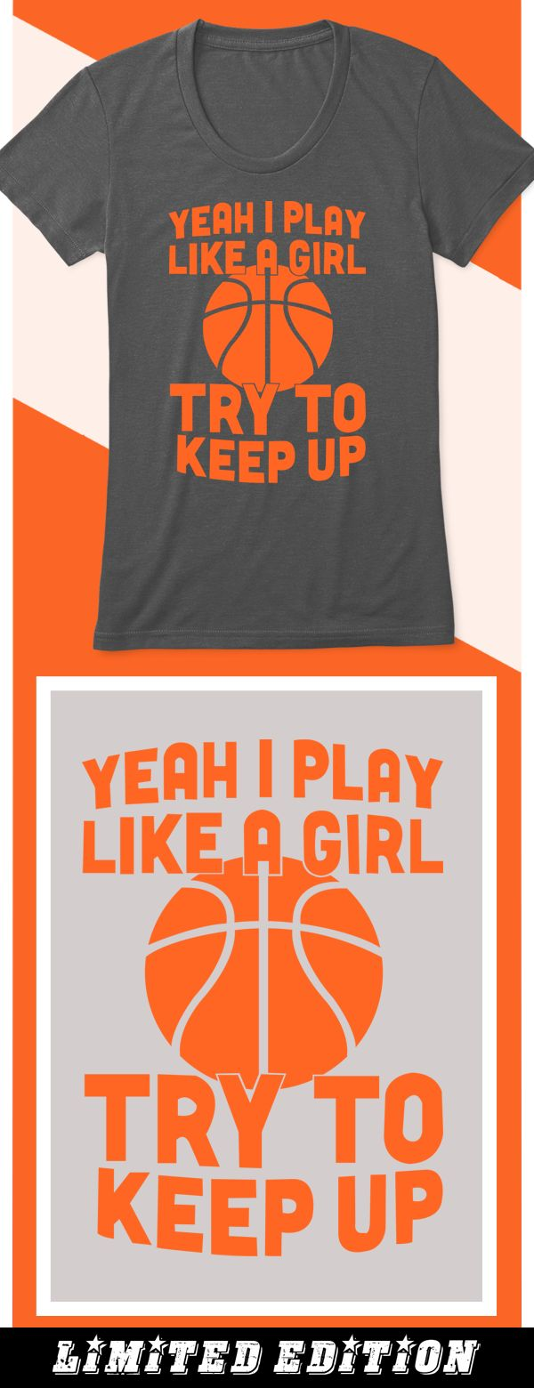 Play Like a Girl - Limited edition. Order 2 or more for friends/family & save on shipping! Makes a great gift!