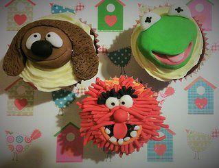 Muppet cupcakes by Little Aardvark Cakery