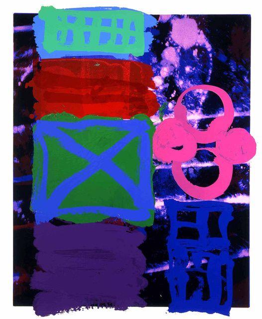 Albert Irvin RA   Pandora I (1999)   Artsy