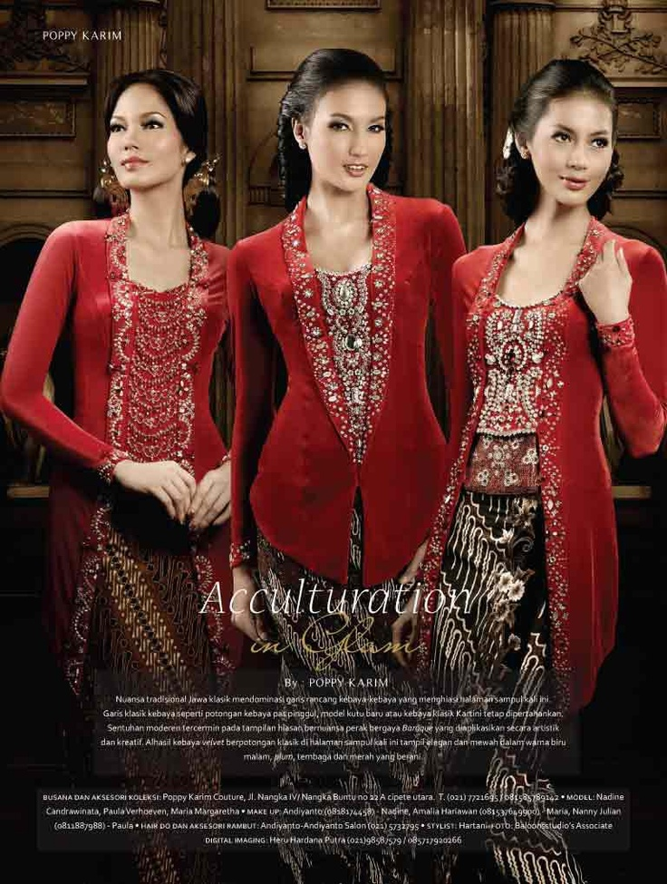 Kebaya in Style.. Models of Kutubaru