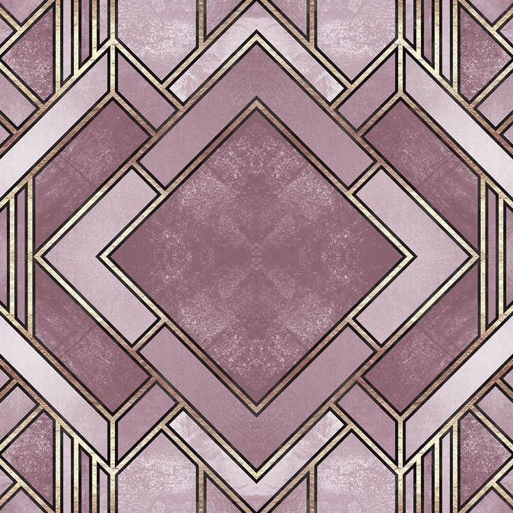 Art Deco City Removable Wallpaper
