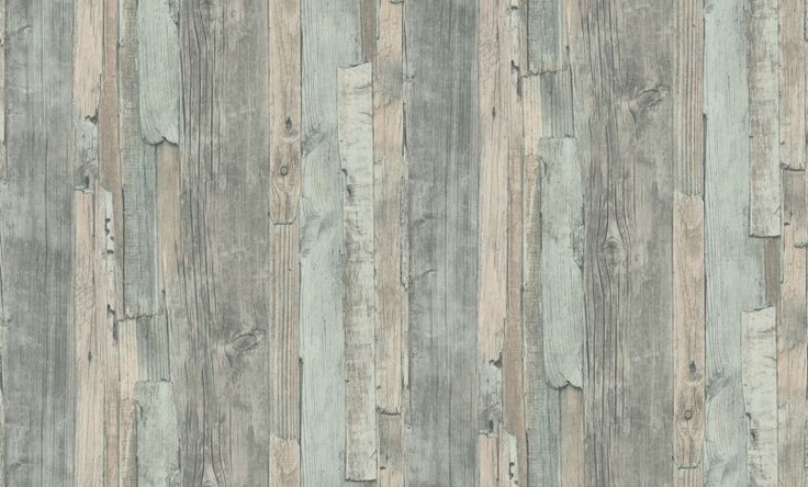 Distressed Wood Duck Egg (95405-5) - Albany Wallpapers - A weathered, distressed wood design in shades of grey with duck egg blue green. Textured vinyl. Please request sample for true colour match. Paste-the-wall product.