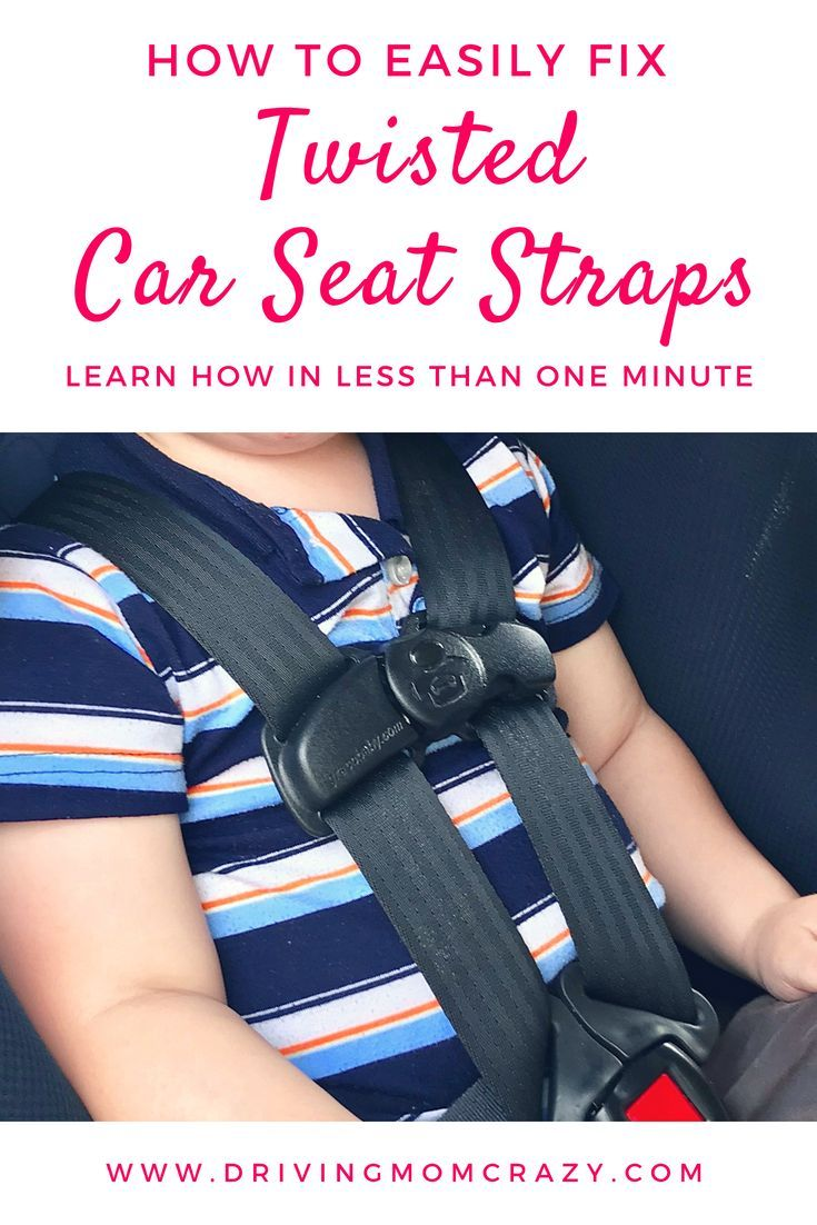 Do You Have An Infant Car Seat Convertible Or Forward Facing That Gets Twisted Straps Fix This Most Common Problem EASILY