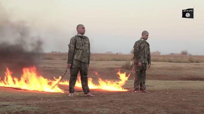 Noticia Final: ISIS queima vivo dois soldados turcos no leste de ...