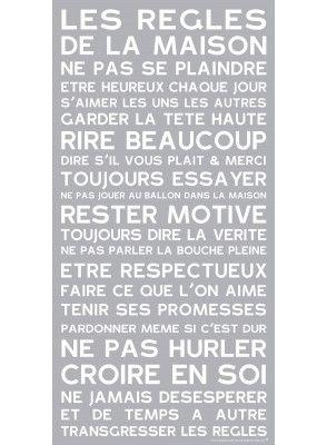 Tableau de mots, Tableau Personnalisable, Mes Mots Déco. Wall Word Art,