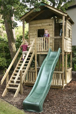 Play Fort-I would love to have one of these in my backyard-- I think with some help from Pappy we may be able to create this fort for Jax next summer!!! :)