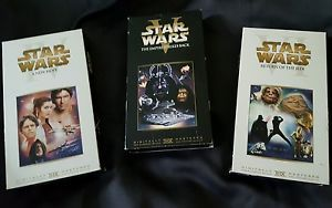 STAR WARS Trilogy VHS IV V VI  Empire New Hope Return of the Jedi - 3 VHS tapes in Entertainment Memorabilia, Movie Memorabilia, Other Movie Memorabilia | eBay