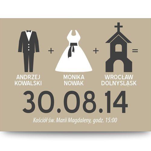 Zaproszenie ślubne - szablon MZS084