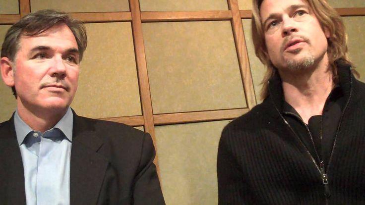 Brad Pitt and Billy Beane Talk MONEYBALL, Interview