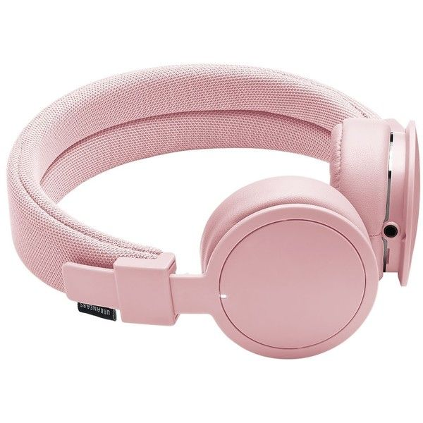 Urbanears Light Pink Plattan Bluetooth Headphones (5.940 RUB) ❤ liked on Polyvore featuring accessories, tech accessories, accessories /, kirna zabete, tech, urbanears headphones and urbanears