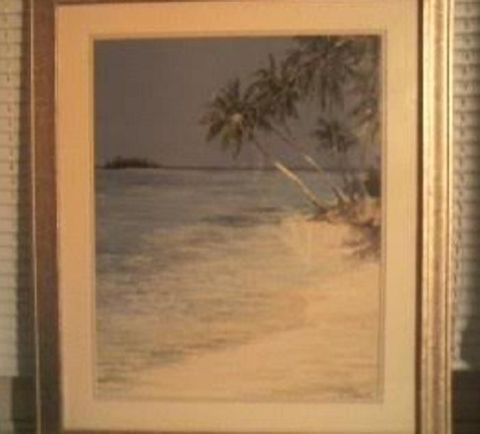 Framed Art- Seaside Vintage - Signed!!!. Framed Art- Seaside Vintage - Signed!!! on Tradesy Weddings (formerly Recycled Bride), the world's largest wedding marketplace. Price $143...Could You Get it For Less? Click Now to Find Out!