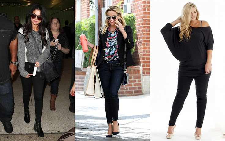 Styling the Skinny Leg Black Jean