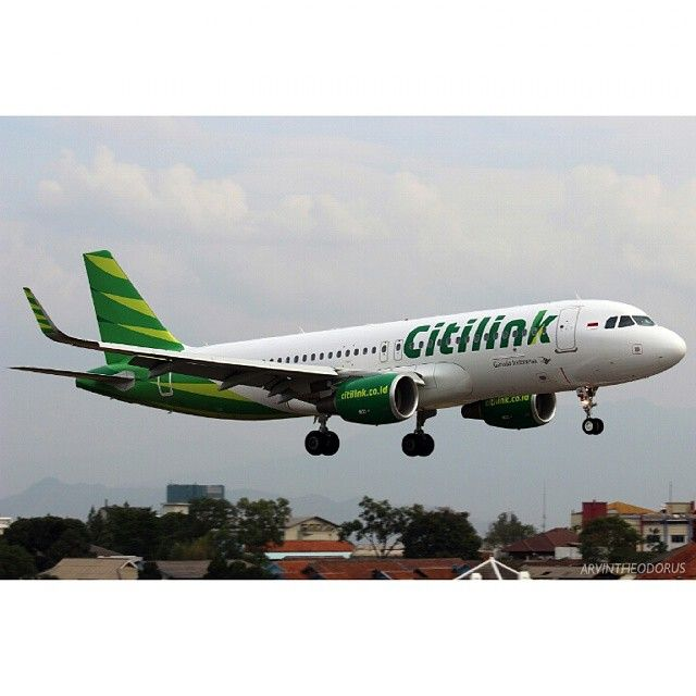 PK-GQE Airbus A320-214 Citilink  Photo by Arvin Theodorus @arvintheodorus Instagram photo | Websta (Webstagram)