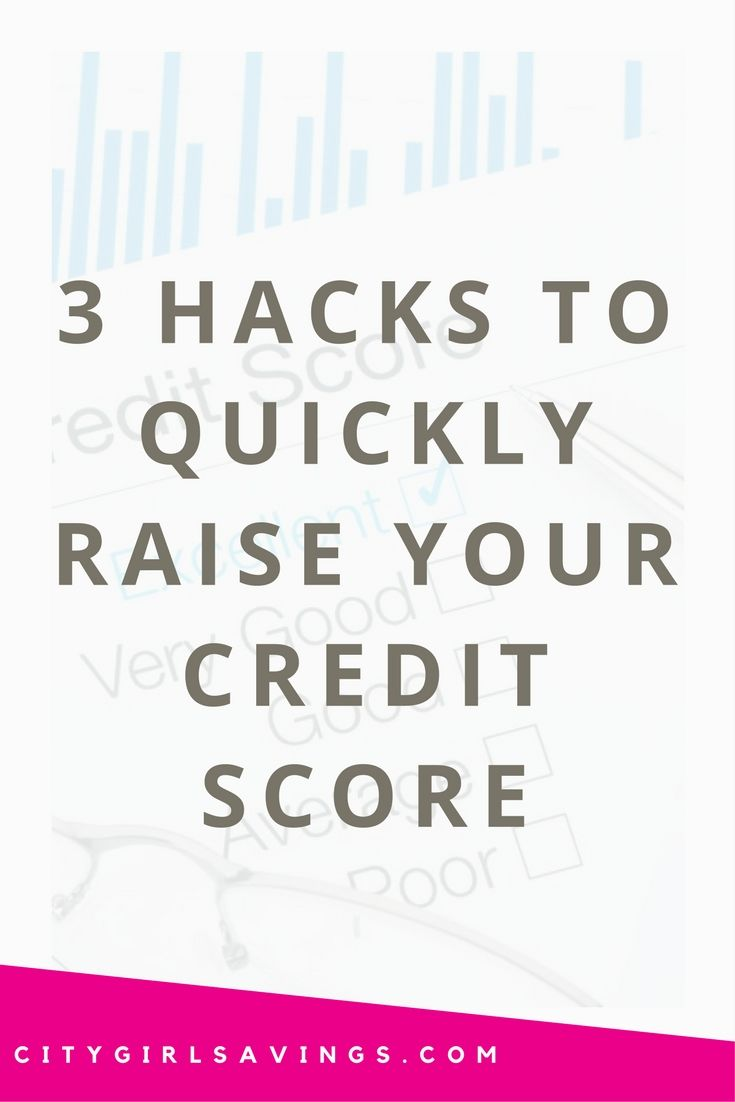 "Does your credit score need a quick boost? The CGS Team is sharing 3 hacks to quickly raise your credit score. These ways not be available to everyone, but they are certainly worth trying! New article  ""3 Hacks to Quickly Raise Your Credit Score"" up now!  Build credit, credit repair, credit score fix, save more money."
