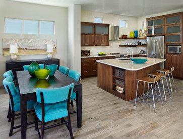Midtown Portfolio - contemporary - kitchen - denver - Brookfield Residential Colorado