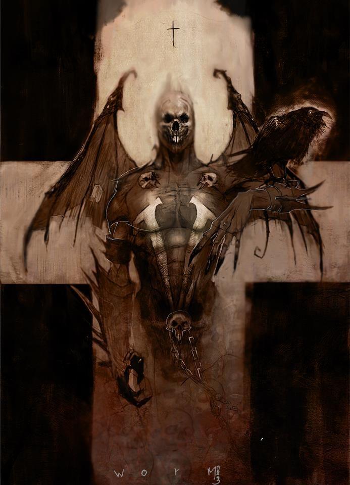 Hellspawn by DamienWorm.deviantart.com on @deviantART