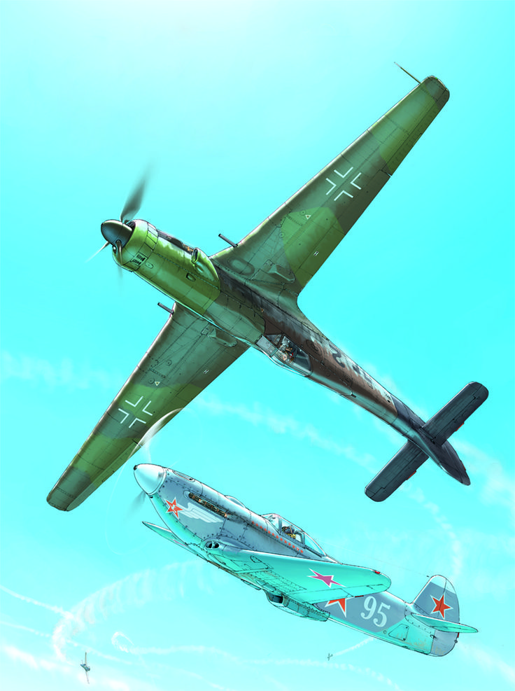 Romain Hugault. This is the final step of FW 190 evolution, the Ta 152.