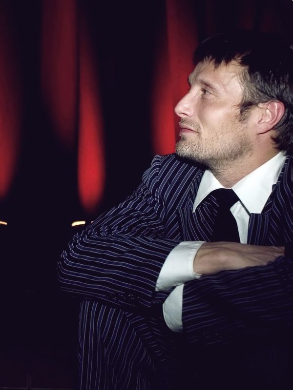 Mads Mikkelsen - I know you play a serial killer. One of the greatest literary serial killers ever. But there is just something oddly sexy about you...