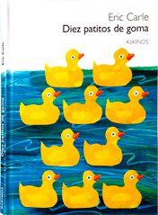 Diez patitos de goma caen inesperadamente al mar. Flotando, flotando, cada uno se cruzará con peces grandes, aves elegantes y animales divertidos. Pero sólo un patito encontrará a alguien muy especial. Y su alegría se podrá escuchar al terminar el libro.