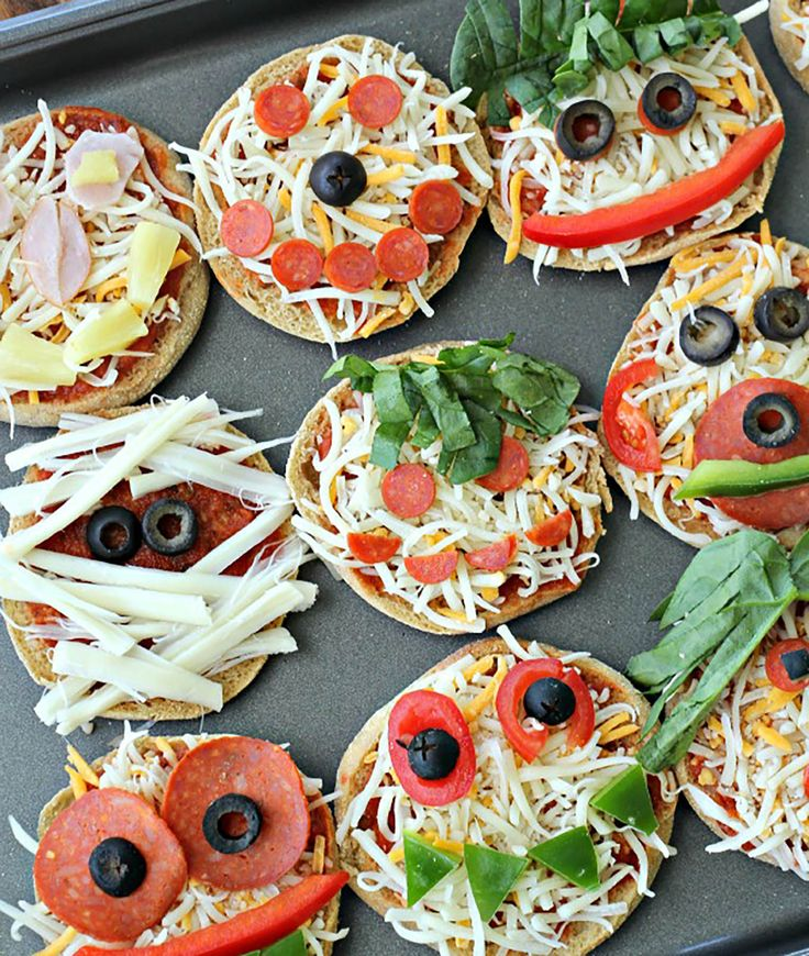 Funny-Face-Pizzas