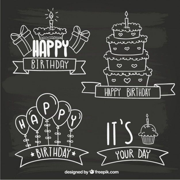 Blackboard birthday badges Source: Freepik License: Free for commercial use with attribution File type: Ai Date: Thu, 03 Sep 2015 Categories: Free Vectors, Birthday Download