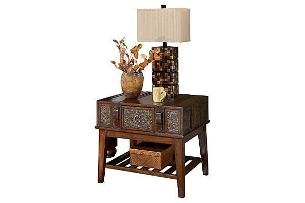 Ashley Mckenna End Table The McKenna End Table from Ashley Furniture HomeStore (AFHS.com). With ...