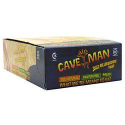 Caveman Foods Caveman Bar Wild Blueberry Nut - 15 per box - 21 oz Each $21.21 (38% OFF)