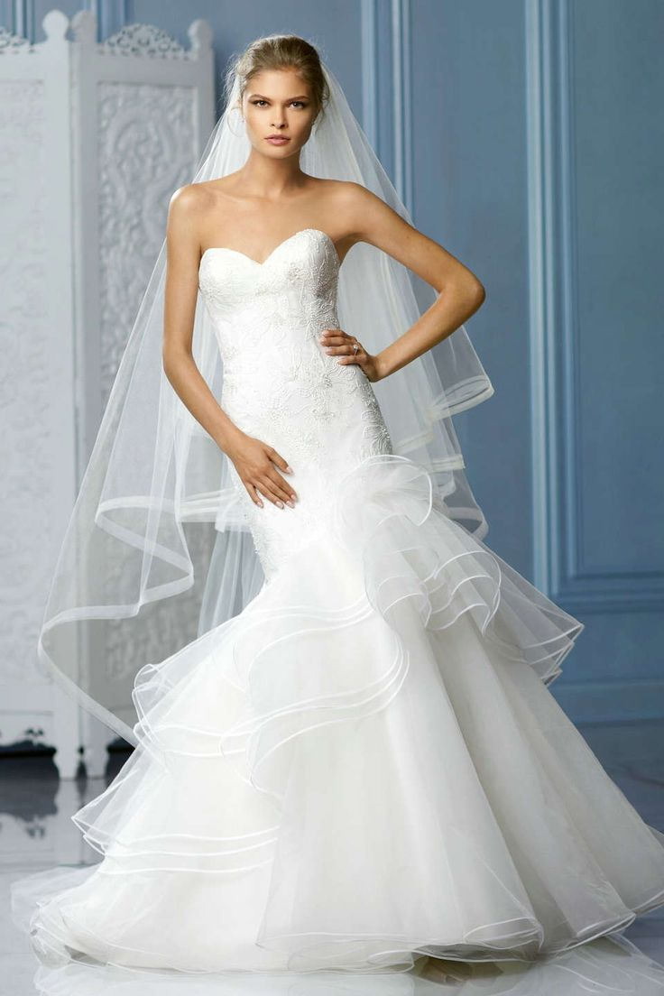1000  images about Wedding Dresses on Pinterest  Mermaid wedding ...