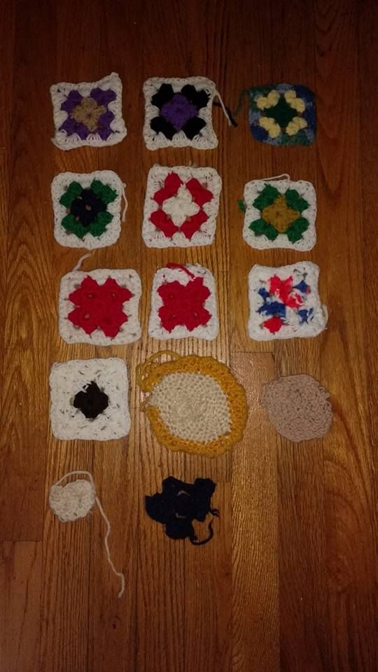 The Progression of Alzheimer's Through My Mom's Crocheting