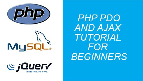 php pdo ajax jquery example