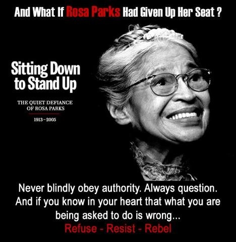 """rosa parks bravery essay """"rosa parks was the woman who wouldn't go to the back of the bus  that in no  way diminishes the personal courage, moral force, and historical importance of."""
