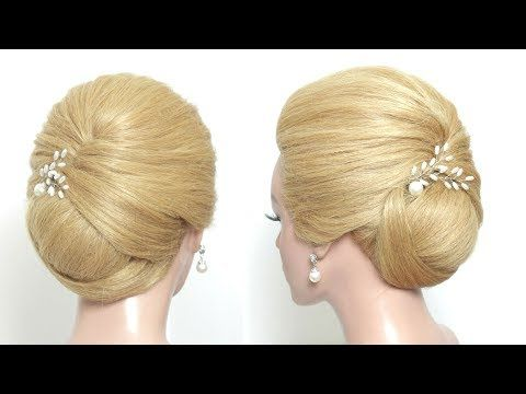 Simple Low Bun Hairstyle Hair Tutorial For Wedding Youtube All