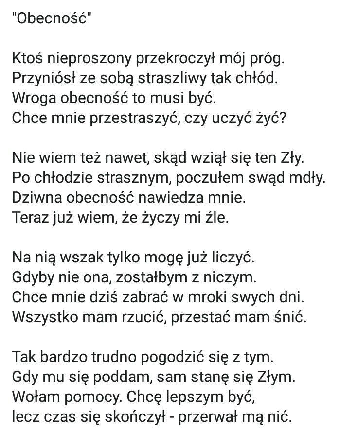 Pin By Karolina Justyna On Wiersze Cytaty Poems Screenshots