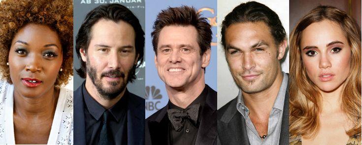 Mundo da Leitura e do entretenimento faz com que possamos crescer intelectual!!!: Jim Carrey, Keanu Reeves e Jason Momoa juntos em h...