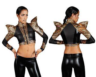 Futuristic Jacket in Gold 921b28bcbb8a