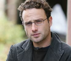 Andrew Lincoln - I like him in glasses!