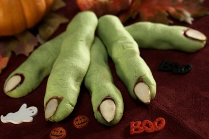 So Yummy and gross looking!   perfect Halloween party food.