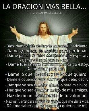 Oración más bella