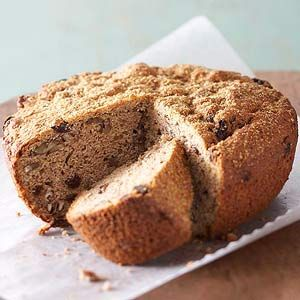 Full of flavor, this healthy quick bread recipe combines applesauce, cinnamon, yogurt, pecans, and raisins. Bake it a day ahead, it's even moister the second day.Breads Recipe, Apple'S Nut Breads, Beautiful Skin, Combinations Applesauce, Apples Nut, Healthy Quick, Healthy Recipes, Whole Wheat Bread, Wheat Apple'S Nut