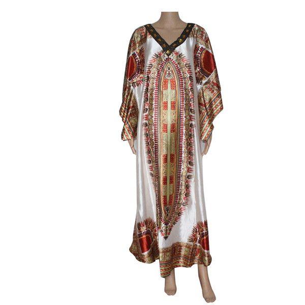 Sparkly dashiki print women dress african traditional dashiki print plus size fashion bazin party dress for lady