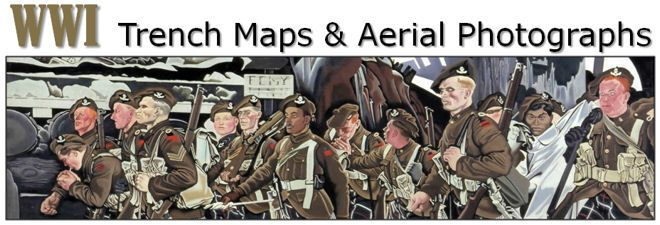 WWI Trench Maps & Aerial Photographs
