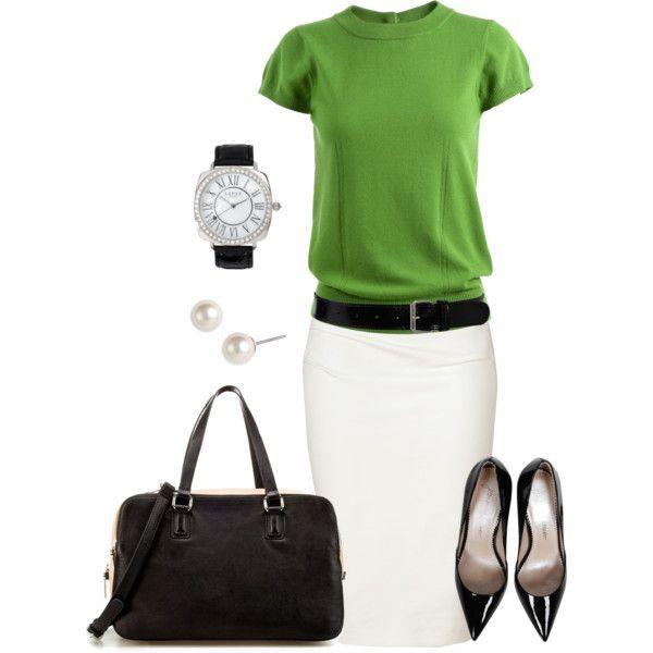 Белая юбка-карандаш – 2017. Как и с чем носить. Модные советы стилиста