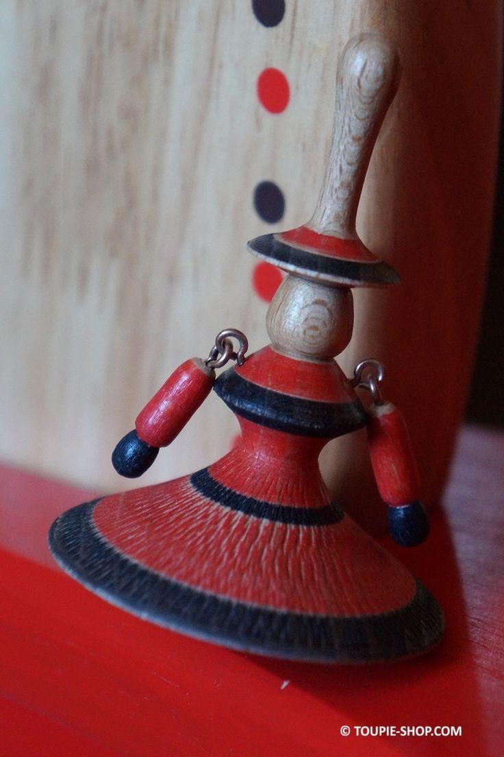 Acheter Jouet en Bois Artisanal Toupie Flamenco Jeu Fabriqué en France Magasin Jouet Bois Toupie Shop